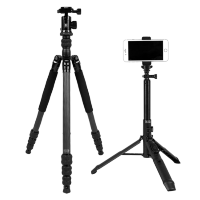 Штатив Sirui Traveler 7C + Штатив-монопод Sirui MS-01K Umbrella Tripod